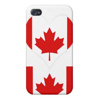 Die Ahornblattflagge von Kanada iPhone 4/4S Case