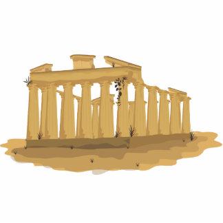 Die Akropolis von Athen Freistehende Fotoskulptur