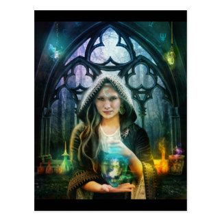 Die Alchemist-Postkarte Postkarte