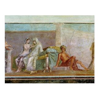 Die Aldobrandini Hochzeit, ANZEIGE 27 BC-14 Postkarte