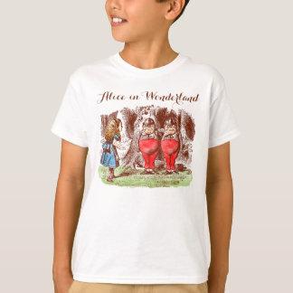 """""""Die Alice im Wunderland-"""" T - Shirt des Kindes"""