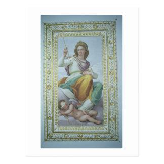 Die Allegorie der Keuschheit (Fresko) Postkarte