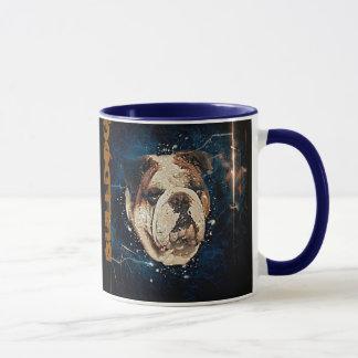 Die allmächtige Bulldoggen-Tasse Tasse