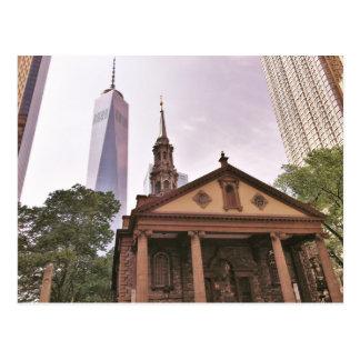 Die alte Garde. Historischen St Paul Kapelle Postkarten