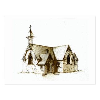 Die alte Kirche Postkarte