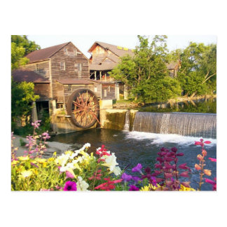 Die alte Mühle Postkarte
