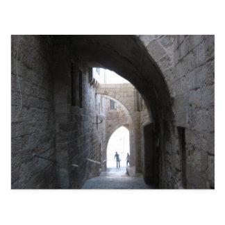 Die alte Stadt Jerusalem Postkarte