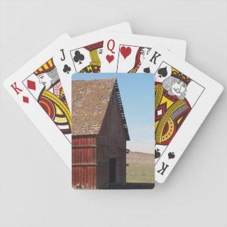 Die alten Scheunen-Plattform o Karten Spielkarten
