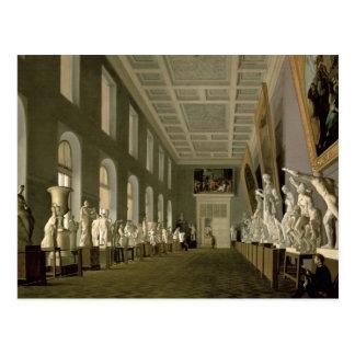 Die Altertums-Galerie der Akademie der Geldstrafe Postkarte