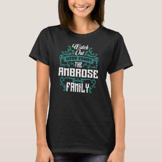 Die AMBROSE Familie. Geschenk-Geburtstag T-Shirt