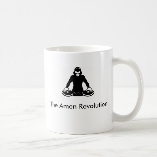 Die amen Revolution Tasse