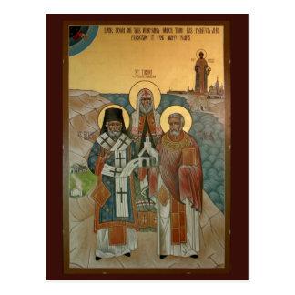 Die amerikanische orthodoxe Auftrag-Gebets-Karte Postkarte