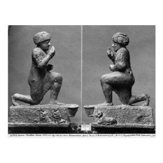 Die Anbeter von Larsa, alias König Postkarte