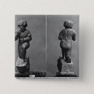 Die Anbeter von Larsa, von der Front und von der Quadratischer Button 5,1 Cm