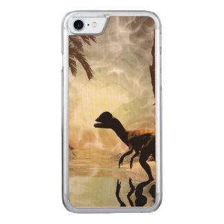 Die andere Welt, Dinosaurier in dem Fluss Carved iPhone 8/7 Hülle