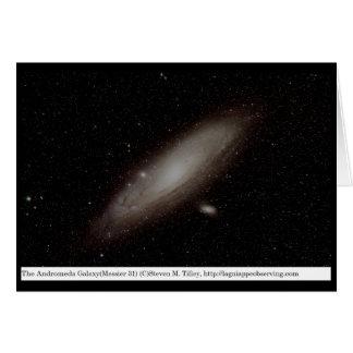 Die andromeda-Galaxie (M31) Karte