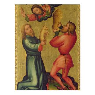 Die Angebote von Kain und von Abel Postkarte