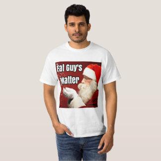 Die Angelegenheit des fetten Typ T-Shirt
