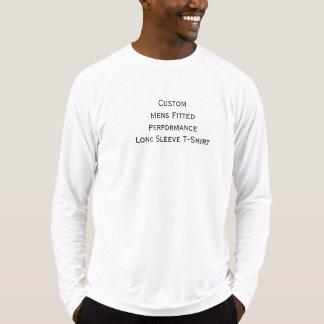 Die angepasste Leistungs-langer Hülsen-T - Shirt