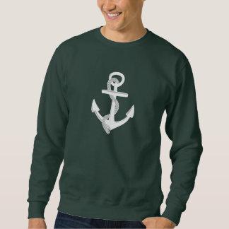 Die Anker des Schiffs Sweatshirt