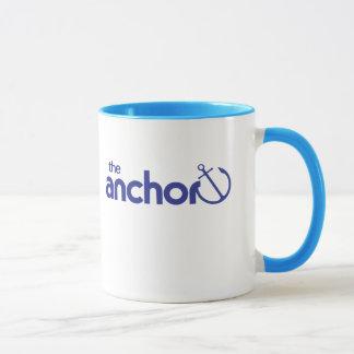 Die Anker-Retro Logo-Wecker-Tasse Tasse