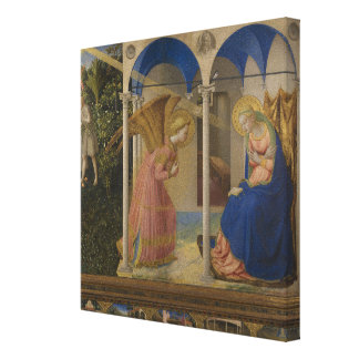 Die Ankündigung, 1425-8 Leinwanddruck