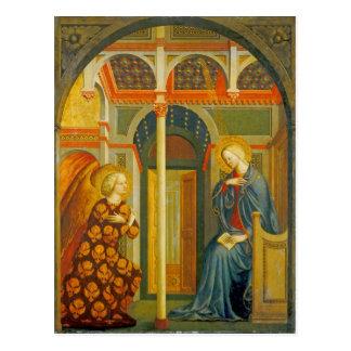 Die Ankündigung, C. 1423-24 Postkarte