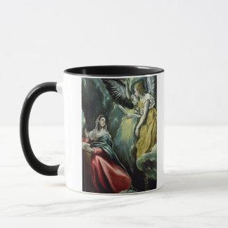 Die Ankündigung, c.1575 (Öl auf Leinwand) Tasse