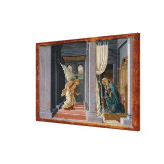Die Ankündigung, circa 1485 Leinwanddruck