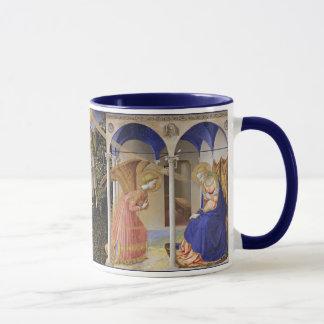Die Ankündigung durch Fra Angelico Tasse