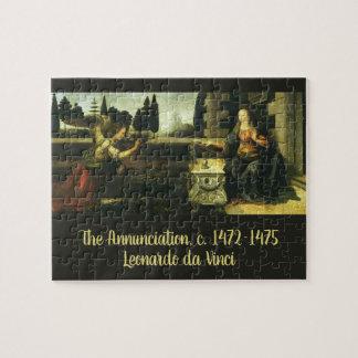 Die Ankündigung durch Leonardo da Vinci Puzzle