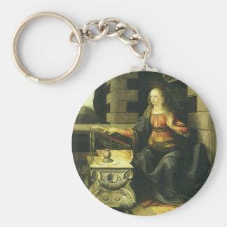 Die Ankündigung durch Leonardo da Vinci Schlüsselanhänger
