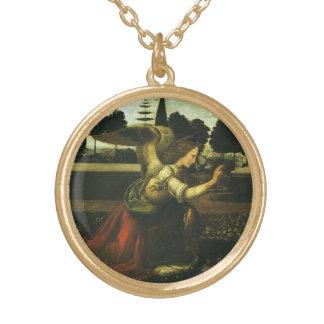 Die Ankündigung durch Leonardo da Vinci Vergoldete Kette