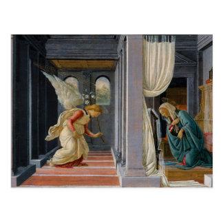 Die Ankündigung durch Sandro Botticelli Postkarte