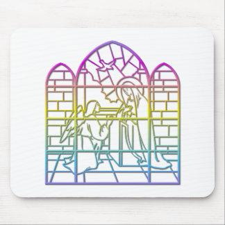 Die Ankündigung (gesegnete Jungfrau Mary u. Engel) Mousepad