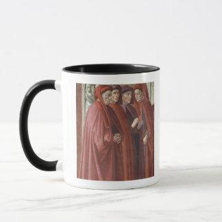 Die Ankündigung zu St. Zacharias (Fresko) (Detail Tasse