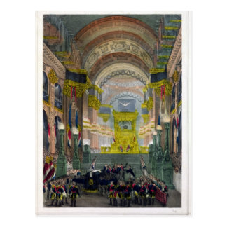 Die Ankunft von Napoleons Asche Postkarte