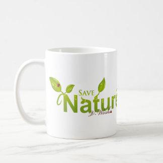 Die Anmut der Natur mit Marienkäfer Tasse