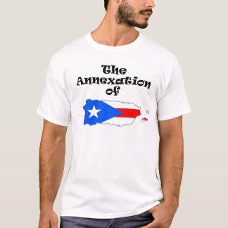 Die Annexion des Puerto- Ricofarbt-stücks T-Shirt