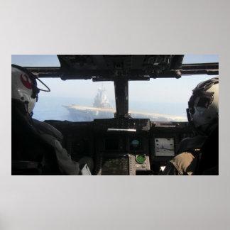 Die Ansicht des Pilot Poster
