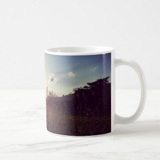 Die Ansicht-Tasse des Abends Kaffeetasse