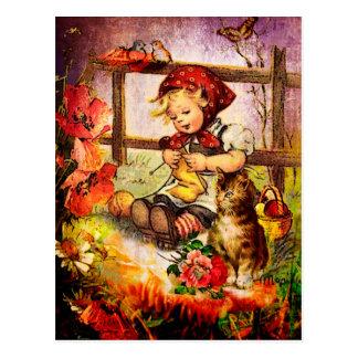 DIE ANSICHT VON WINDOW.jpg der MUTTER Postkarte