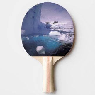 Die Antarktis. Antarktische icescapes 2 Tischtennis Schläger