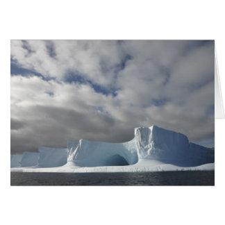 Die Antarktis, Bransfield Straße, Nachmittagssonne Karte