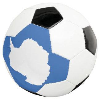 Die Antarktis-Flagge Fußball