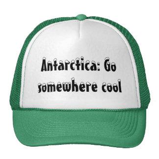 Die Antarktis: Gehen Sie irgendwo cool Baseball Mützen