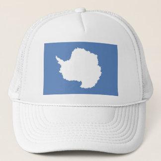 Die Antarktis-Kontinentflaggensymbol Truckerkappe