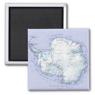 Die Antarktis Quadratischer Magnet