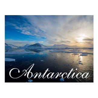 Die Antarktis. Nahe Adelaide-Insel. Die Postkarte