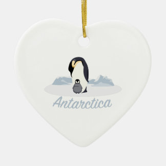 Die Antarktis-Pinguine Keramik Ornament